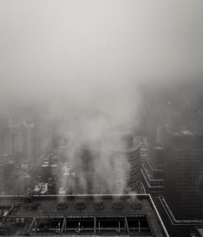 Rain and fog