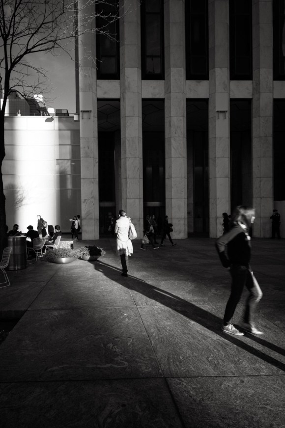 Light on the street