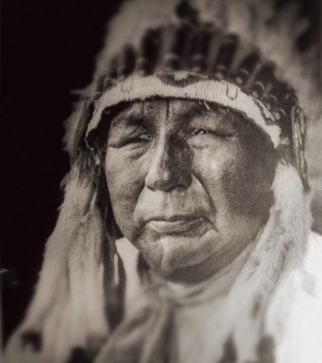 Nez-Perce man