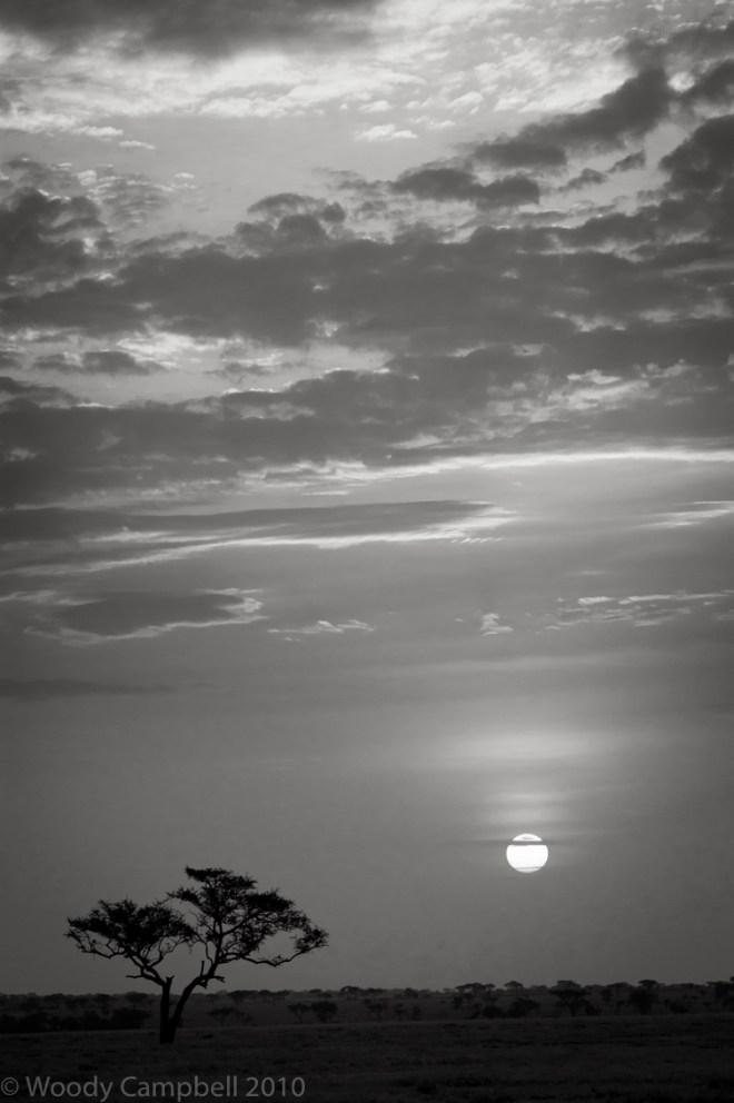Sunset Kenya