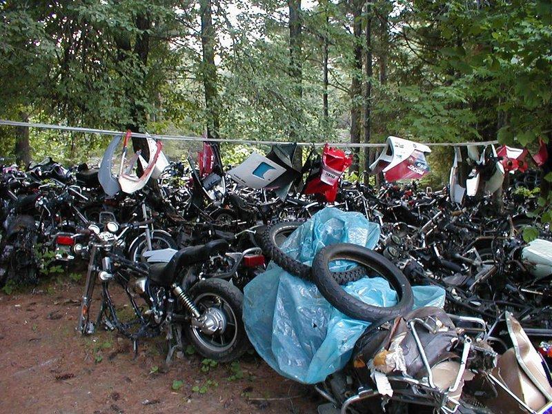 Woodys Cycles Salvage Yard Woodys Cycles