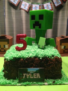 Minecraft blocks of grass