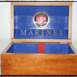 USMC Treasure Chest closeup