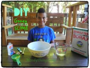 DIY Gooey Slime