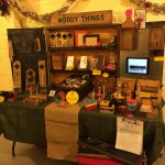 Handmade Market Table Display Dec 2015