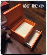 Sneaker Keepsape Mini Box Fully opened