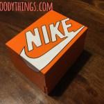 Sneaker Keepsape Mini Box closed