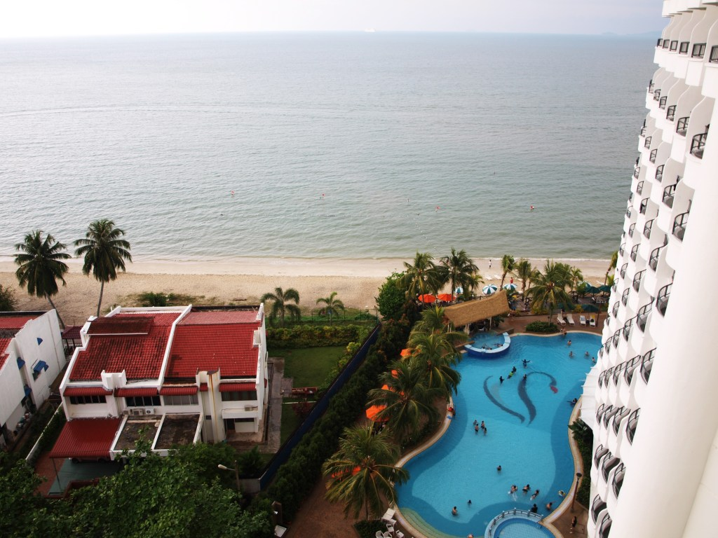 Flamingo by the beach hotel Penang