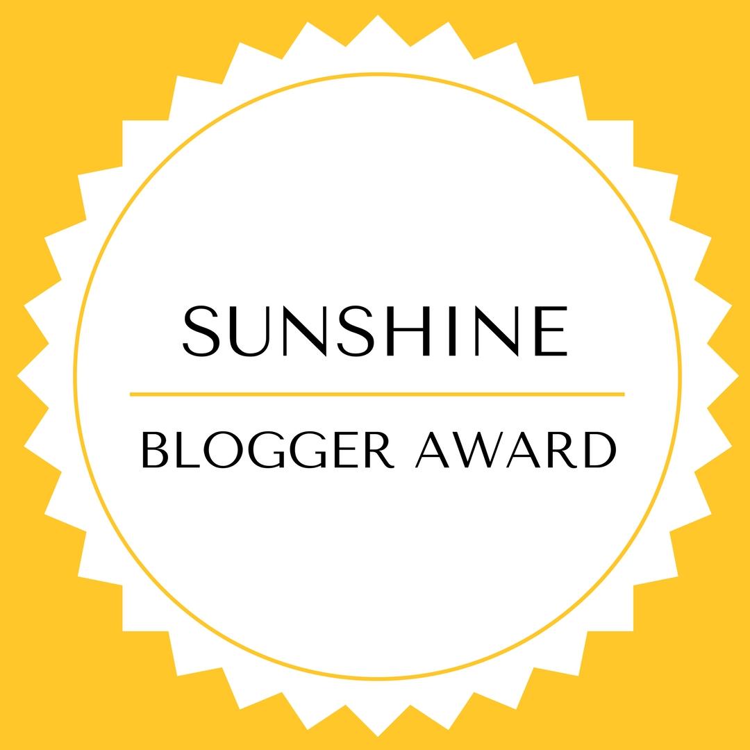Woody World Packer Nominated For The Sunshine Blogger Award