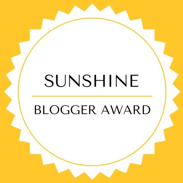 Woody World Packer nominated for the Sunshine Blogger Award