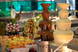 Two-Chocolate-Fountains www.chocolatefontainhirelondon.com