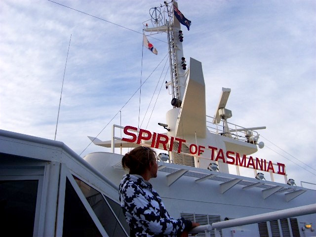 Australia Tasmania Spirit of Tasmania from Melbourne to Devonport