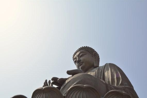 Travel to Big Buddha Hong Kong Lantau Island Asia