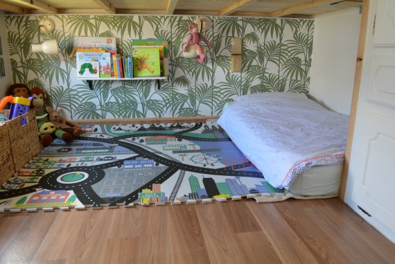 DIY Caravan Renovation Bedroom Sem