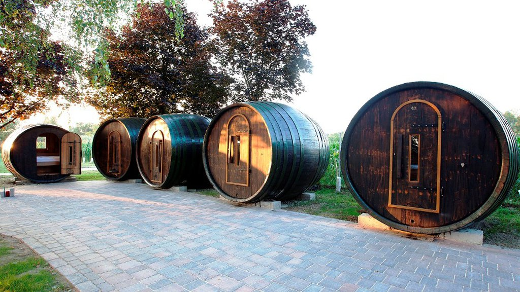 Village Of Wine Barrels Woodz