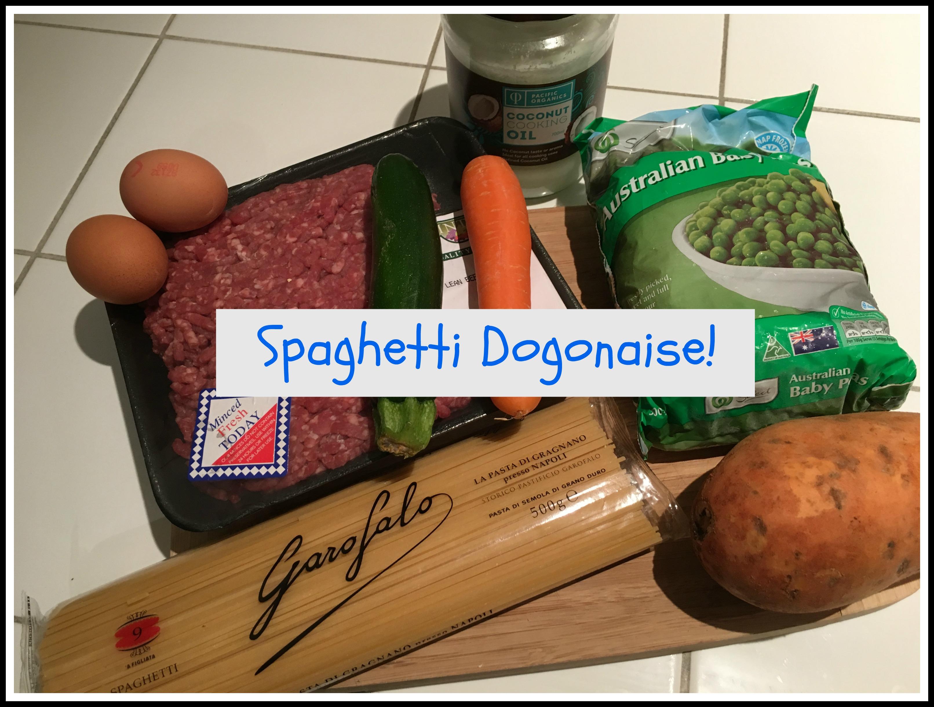 Spaghetti Dogonaise