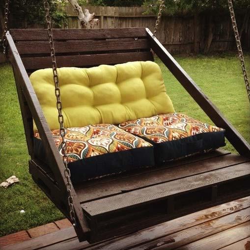 Wooden Garden Swing Seats Outdoor Furniture