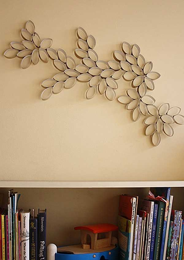 28 DIY Wall Art Toilet Paper Rolls Projects to Enhance Your Blank Walls