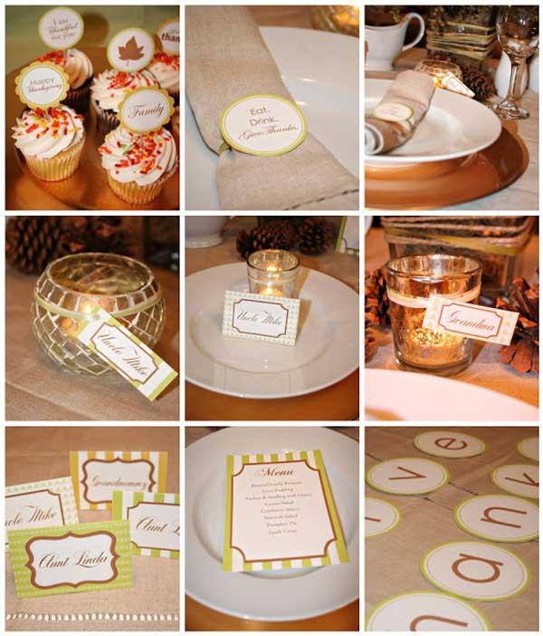 Decorating Endearing Thanksgiving Diy Decor Ideas Demble Home