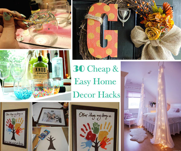 30 Cheap and Easy Home Decor Hacks Are Borderline Genius   Amazing     Genius home decor ideas 0
