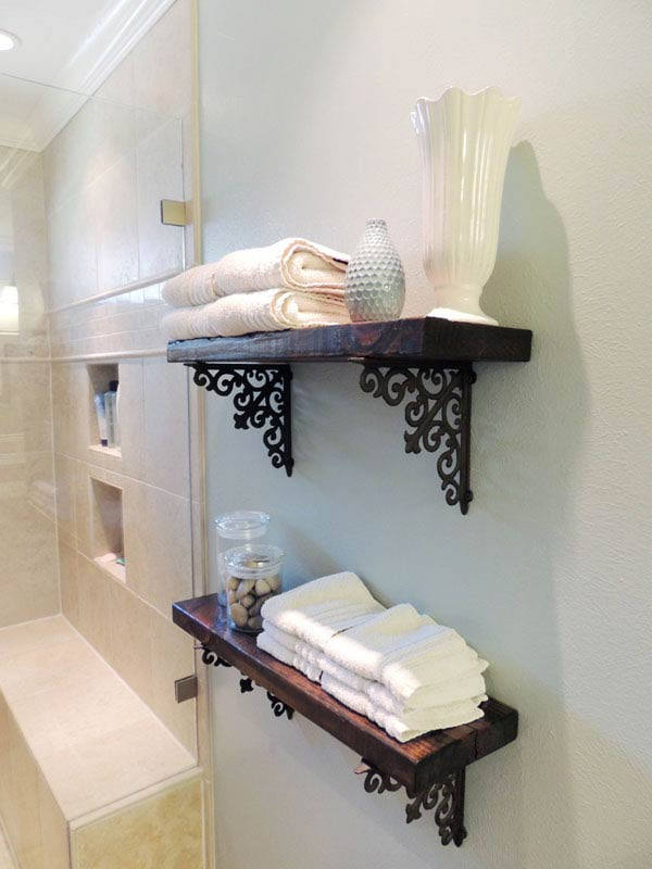 30 brilliant diy bathroom storage ideas - amazing diy, interior