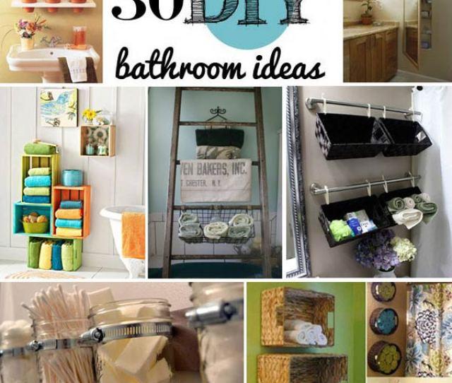 Diy Bathroom Storage Ideas Woohome