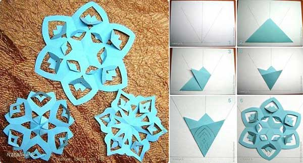 Pipe Cleaner Snowflake Ornament