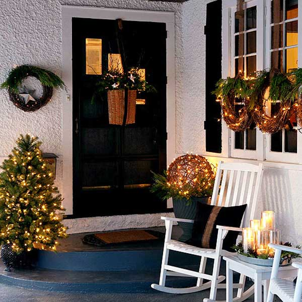 Front Yard Landscaping Design Plans Porch Christmas Decorating Decorations Ideas For Kids To Make
