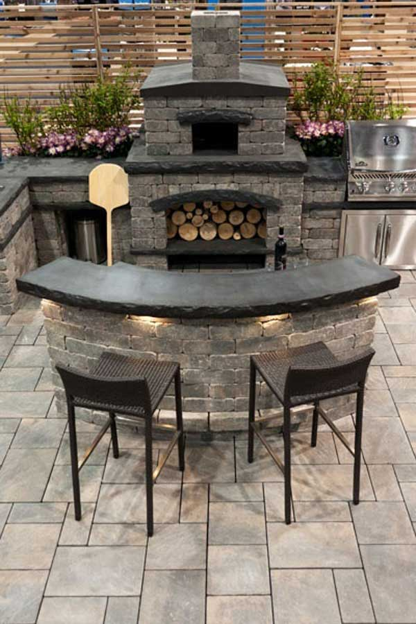 Outdoor Kitchen Ideas Let You Enjoy Your Spare Time
