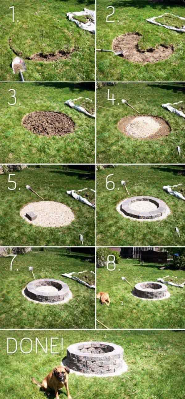 Easy Fire Pit Ideas