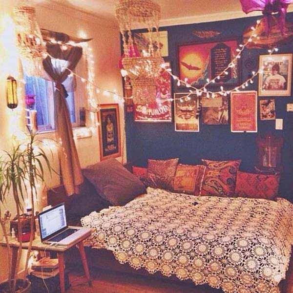 35 charming boho-chic bedroom decorating ideas - amazing diy