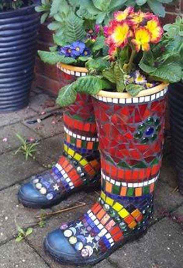 Unusual Plant Pots Outdoor