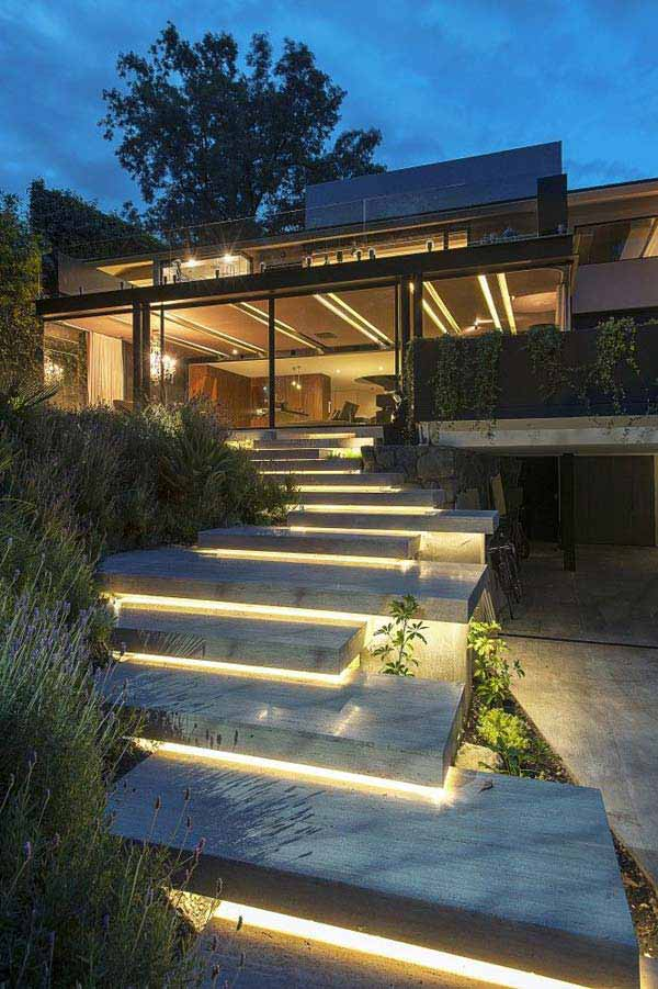 Deck stair lighting ideas. 1000 ideas about deck lighting on ...