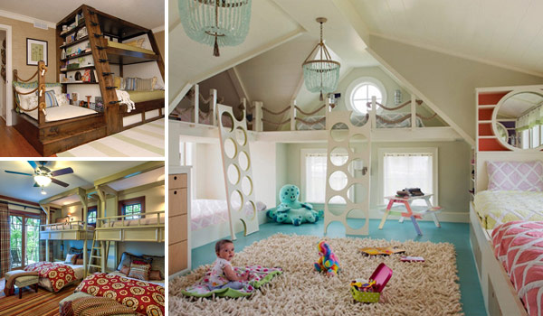 21 Most Amazing Design Ideas For Four Kids Room   Amazing DIY     bedroom ideas for four kids 0