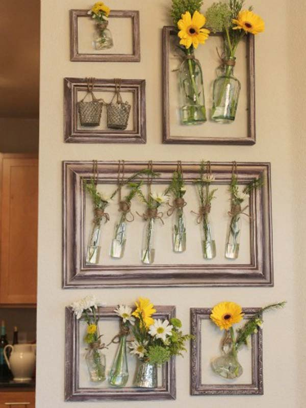 36 Easy and Beautiful DIY Projects For Home Decorating You Can Make         DIY project for homedecor woohome 30