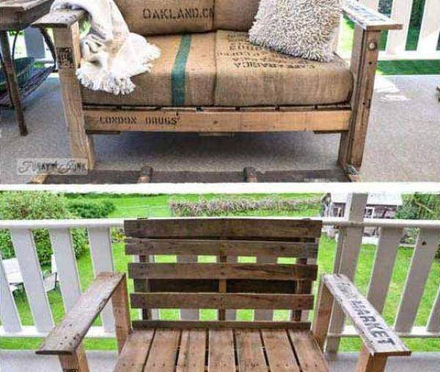 Outdoor Pallet Furniture Woohome