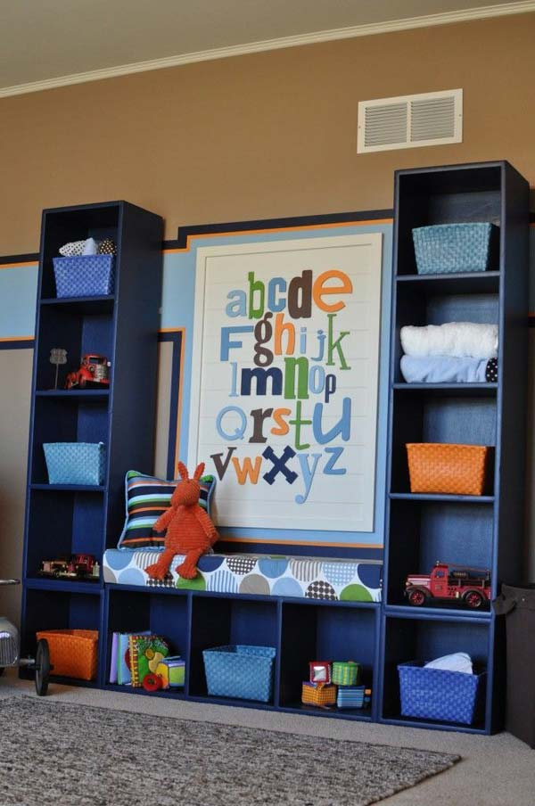28 Genius Ideas And Hacks To Organize Your Childs Room