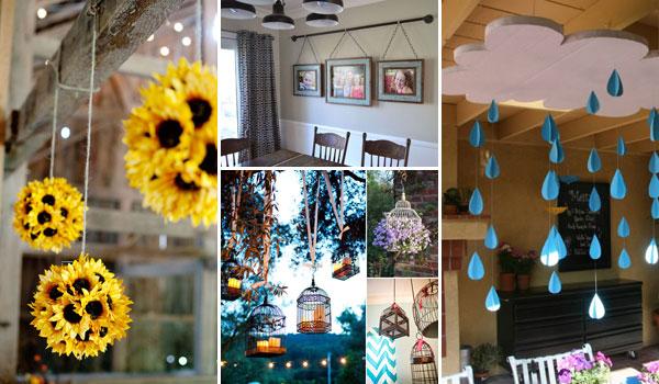 Diy Hanging Diamond Decor Sugar Cloth Home Houston Blogger