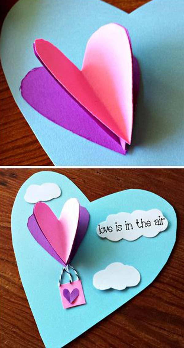 32 Easy And Cute Valentines Day Crafts Can Make Just One Hour Amazing DIY Interior Amp Home Design