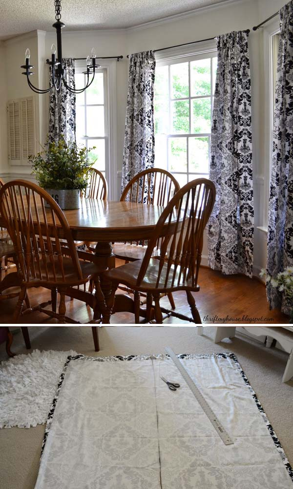 The Most 22 Cool No Sew Window Curtain Ideas