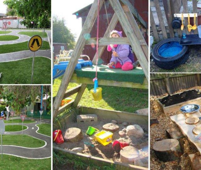 Turn The Backyard Into Fun And Cool Playe For Kids