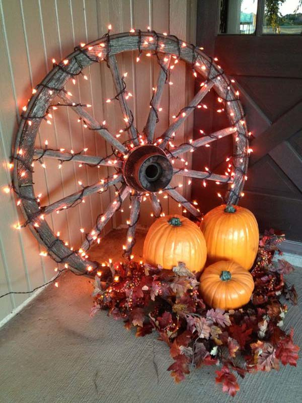 Small Front Porch Decorating