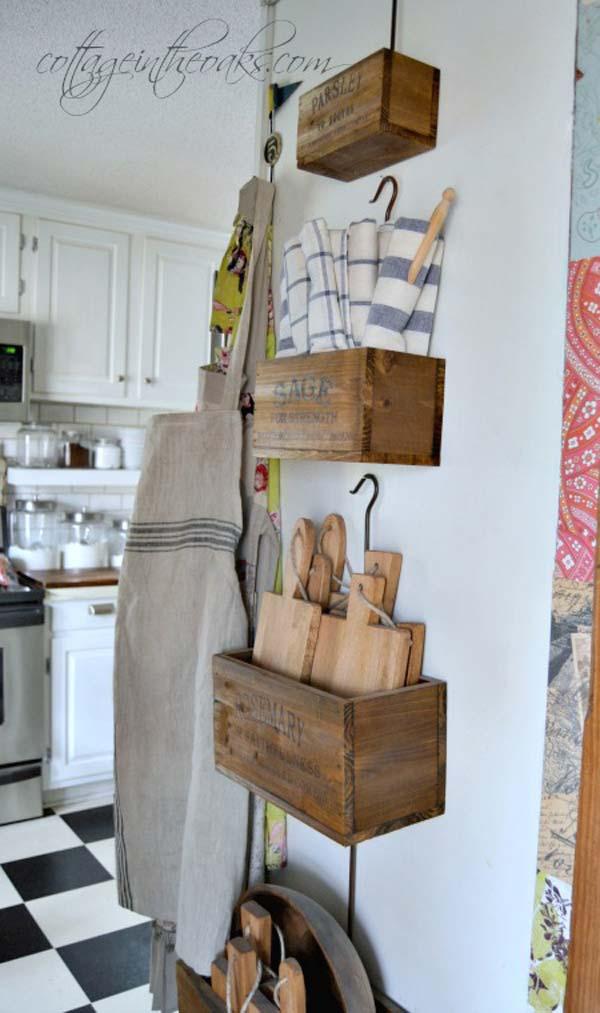22 Farmhouse Inspired Kitchen Storage Ideas Amazing DIY