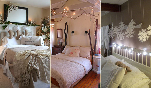 33 Best Christmas Decorating Ideas for Your Bedroom   Amazing DIY     33 Best Christmas Decorating Ideas for Your Bedroom
