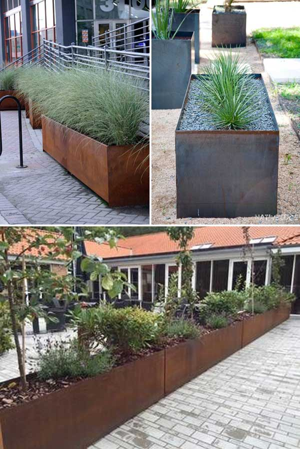 cool ideas for creating diy long planters