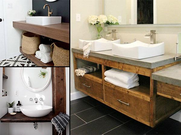 diy floating vanity ideas for bathroom