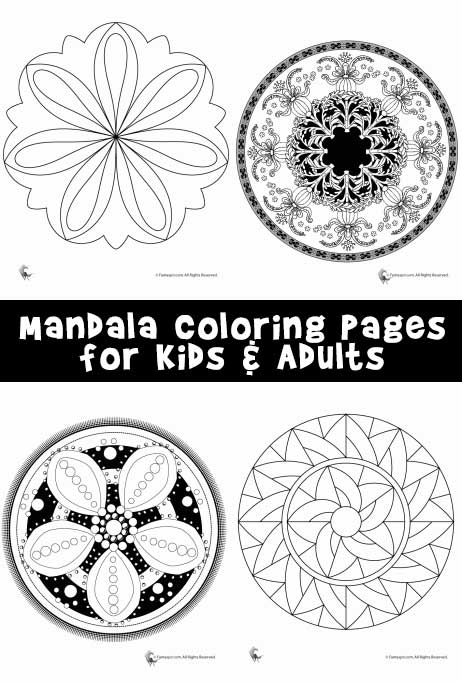 mandala color pages # 27