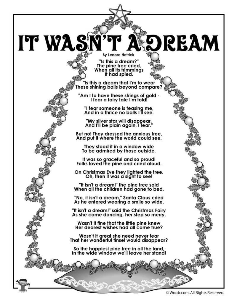Christmas Tree Poems For Preschoolers | Creativepoem.co