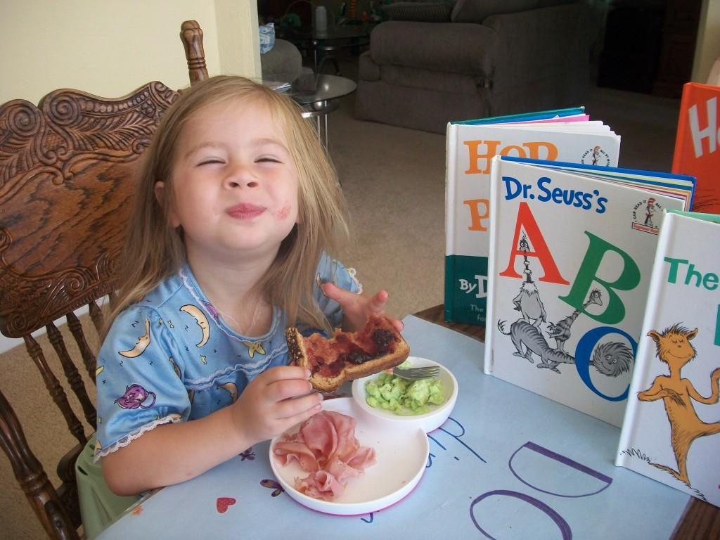 Dr Seuss Breakfast