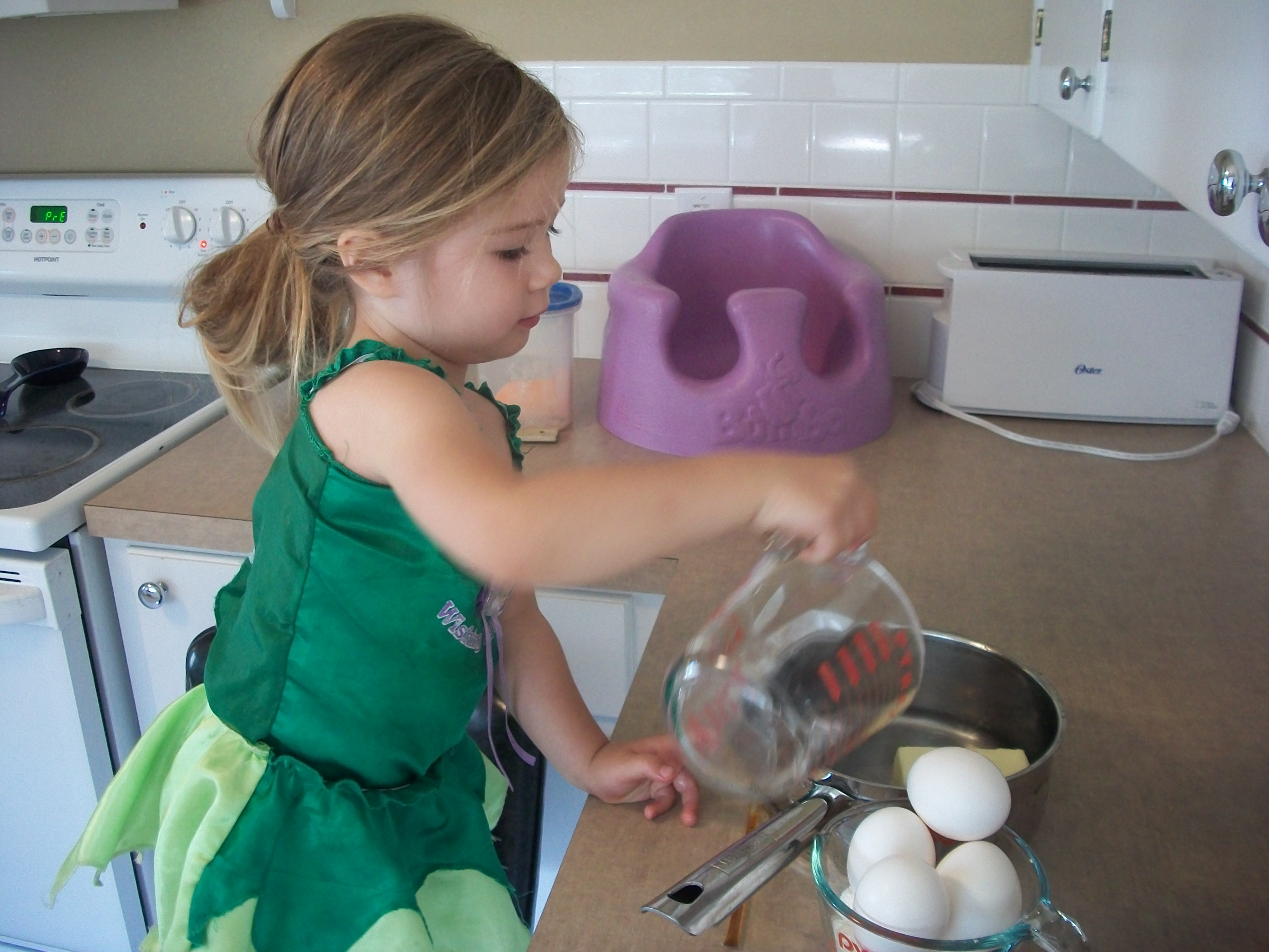 Kids Can Absolutely Help Measuring And Pouring The
